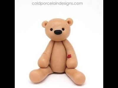 Making a Bear - Cold Porcelain Designs.com