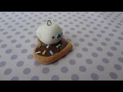 Mamegoma on a cookie Tutorial