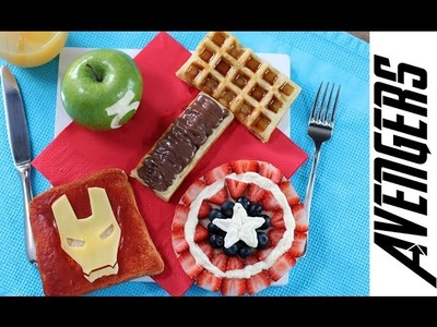 MARVEL AVENGERS Super Hero Breakfast Set | My Cupcake Addiction