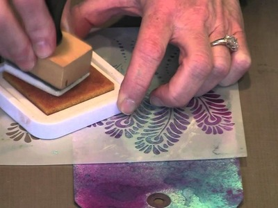 More Crafter's Workshop Stencil Techniques by Joggles.com