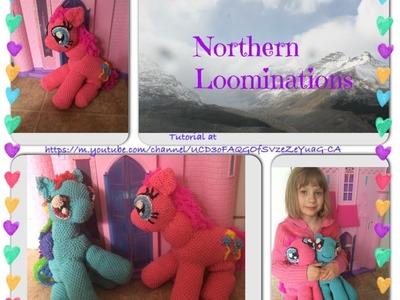Northern Loominations Pinkie Pie  (hook only) loomigurumi Part 1
