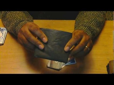 Numbiss - Tyvek BIG Wallets - Six multi-card pockets - Black + RFID Blocking