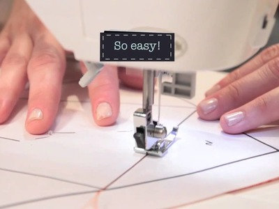 Quilty: Paper Piecing Basics Part II—Quilting How-To