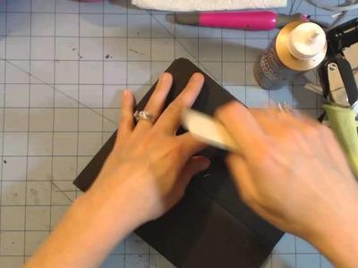 Retro flip mini album tutorial part 1