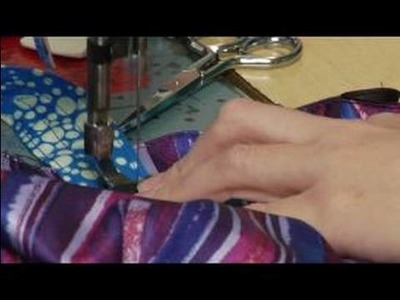 Sewing Jewelry Bags : Sewing Handles on a Jewelry Bag