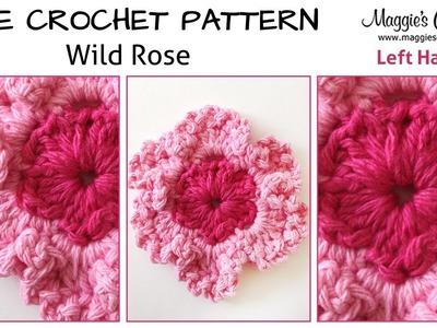 Rose Crochet Irish Rose Crochet Irish Rose Wild Rose Free Crochet