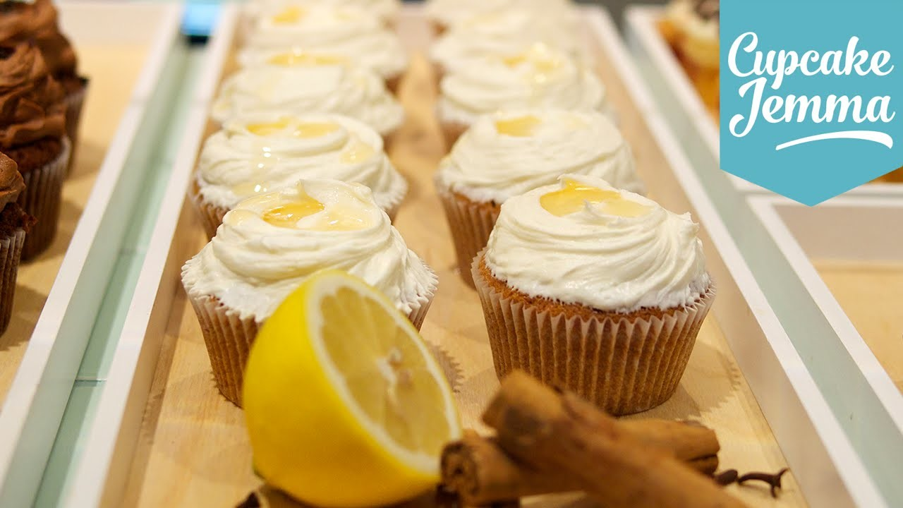 Winter Warmer Hot Toddy Cupcakes | Cupcake Jemma