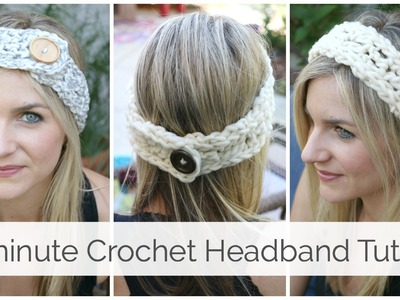 20 minute Crochet Headband Tutorial