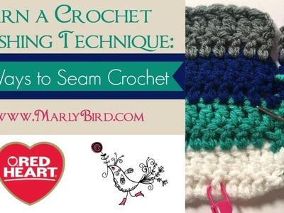 3 Ways to Seam Crochet