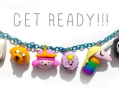 Adventure Time Charm Bracelet Tutorial