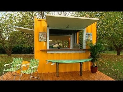 Better Homes and Gardens - DIY: how to build a BBQ beach shack - part two