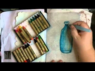 Bottle Painting Tutorial with Tee