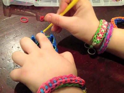 "Corey's Rainbow Loom ""Twister-Wister"" (Easy!)"