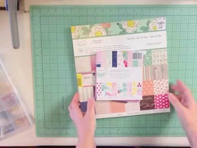Create Your Own Scrapbook Kit #2 inspired by Dear Lizzy's Serendipity & Polka Dot Party
