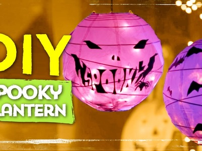 DIY Halloween Lantern ∞ Halloween DIYs
