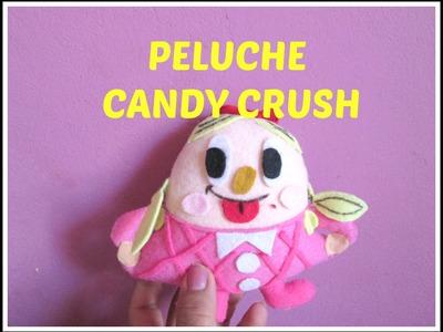 DIY! PELUCHITA CANDY CRUSH! HOW TO MAKE A CANDY CRUSH PLUSH