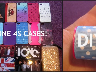 DIY Phone Charger + My IPhone 4S Cases!