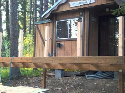 DIY - Replacement Deck with Stairs - Simple Design