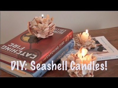DIY: Seashell Candles!
