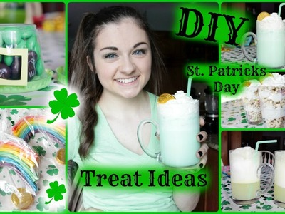 DIY St. Patricks Day Treat Ideas & Shamrock Shake | March Marvel Day 3