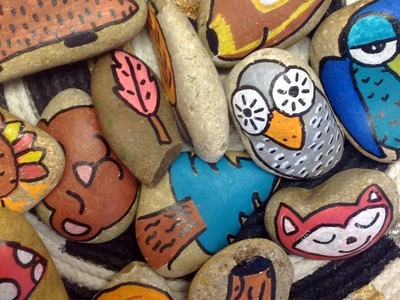DIY Story Stones for Imaginative Play