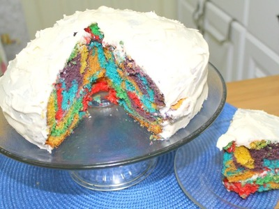 Easy Rainbow Cake - in the Kitchen With Jonny Episode 28