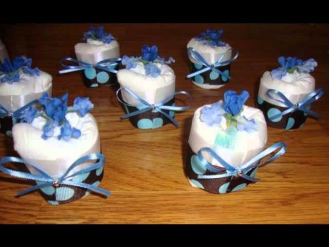 EBAY: awhhbbynikki-Baby Shower Gifts-Diaper Cakes-Diaper Cupcakes