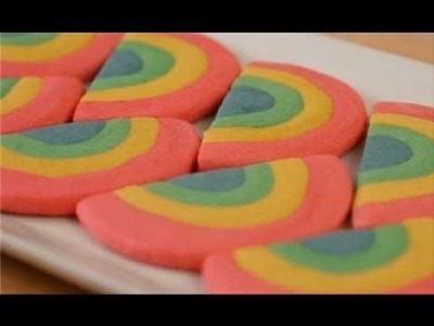 End-o'-the-Rainbow Cookies - St Patrick's Day Treat