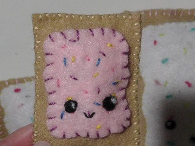 "Felt ""Pop Tart"" Plushie Tutorial by Kreative Krafts"
