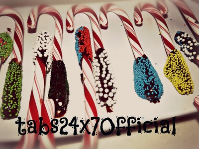 Fun And EASY Candy Cane Decorating With Tabby! :D