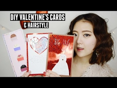 GIVEAWAY | DIY Valentine's Cards & Hairstyle