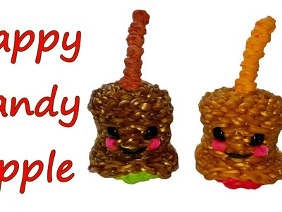 Happy Candy Apple Tutorial by feelinspiffy (Rainbow Loom)