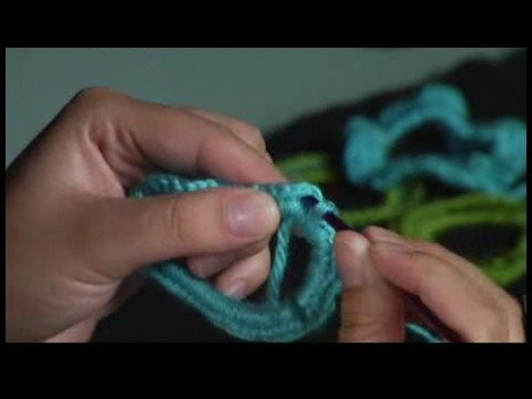 How to Crochet a Scrunchie : Crocheting over a Hair Band Part 2: Hair Scrunchie Pattern
