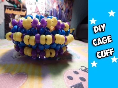 How to  Make a Cage Cuff (Part 1) - [www.gingercande.com]