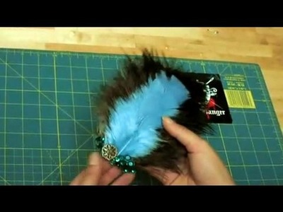 How-to Make a Feather Head Piece, Threadbanger
