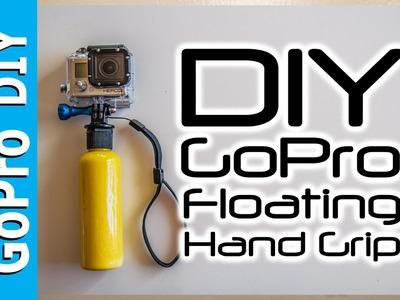 How to make a GoPro Floating Hand Grip - Float Bobber Handle - GoPro DIY #5