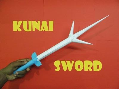How to Make a Kunai Sword - Easy Tutorials