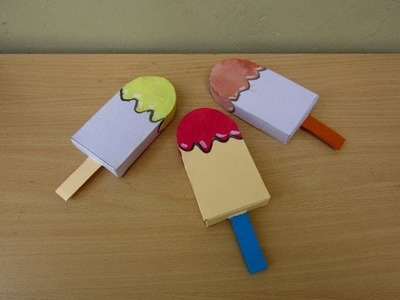 How to Make a Paper Boxes Paddle Shaped - Easy Tutorials