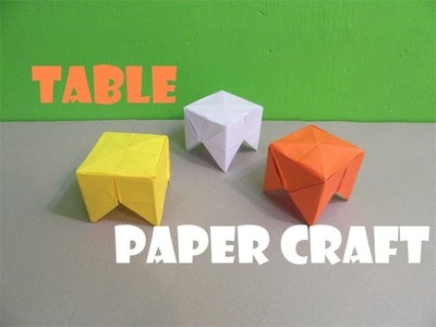 How to Make a Paper Table Stepper - Easy Turorials