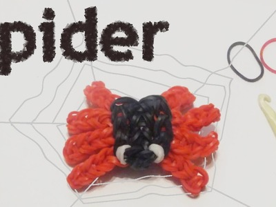 How To Make A Spider Charm On The Rainbow Loom | Tutorial