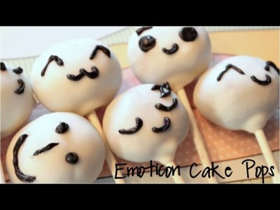How to Make Emoticon Cake Pops!