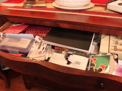 How to organize a catch-all drawer - part I