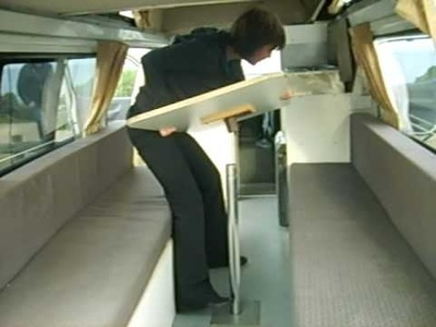 How to turn a table into a bed in a campervan - Part 1