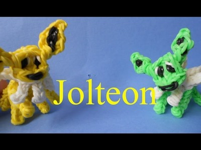 Jolteon Pokemon - Rainbow Loom Charms