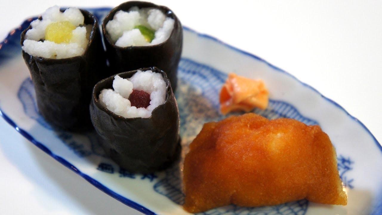 "Kracie Popin'Cookin'Arrange""sushi roll set"""