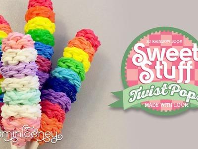 Loom Twist Lollipops: 3D Rainbow Loom Sweet Stuff