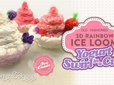 Loom Yogurt Swirl Cup: 3D Rainbow Ice Loom Series