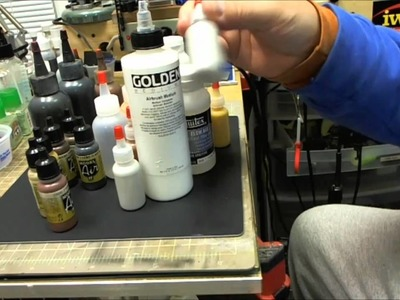 LOW STRESS ACRYLIC PAINT MIXING (Part 1)