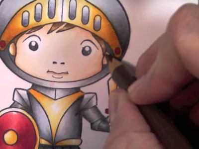 LTC: How to Shade with Colored Pencils Over Copic Markers