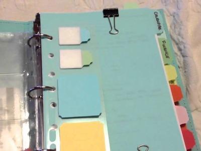 Martha Stewart home office binder